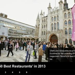 World's 50 Best Restaurants' announced for2013