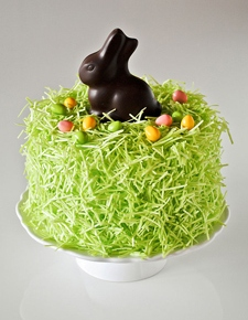 Your New Easter Dessert: A Chocolate Bunny Cake