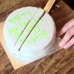 Slicing a cake is easy, right?