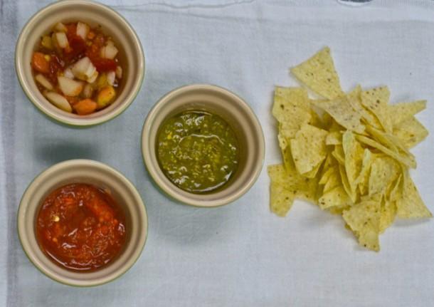 RECIPE: Simple salsa trio