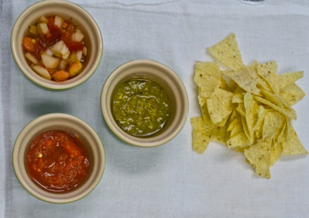 RECIPE: Simple salsa trio
