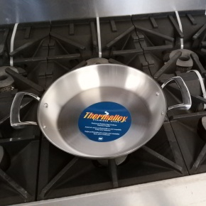 Thermalloy 11 inch Paella Pan